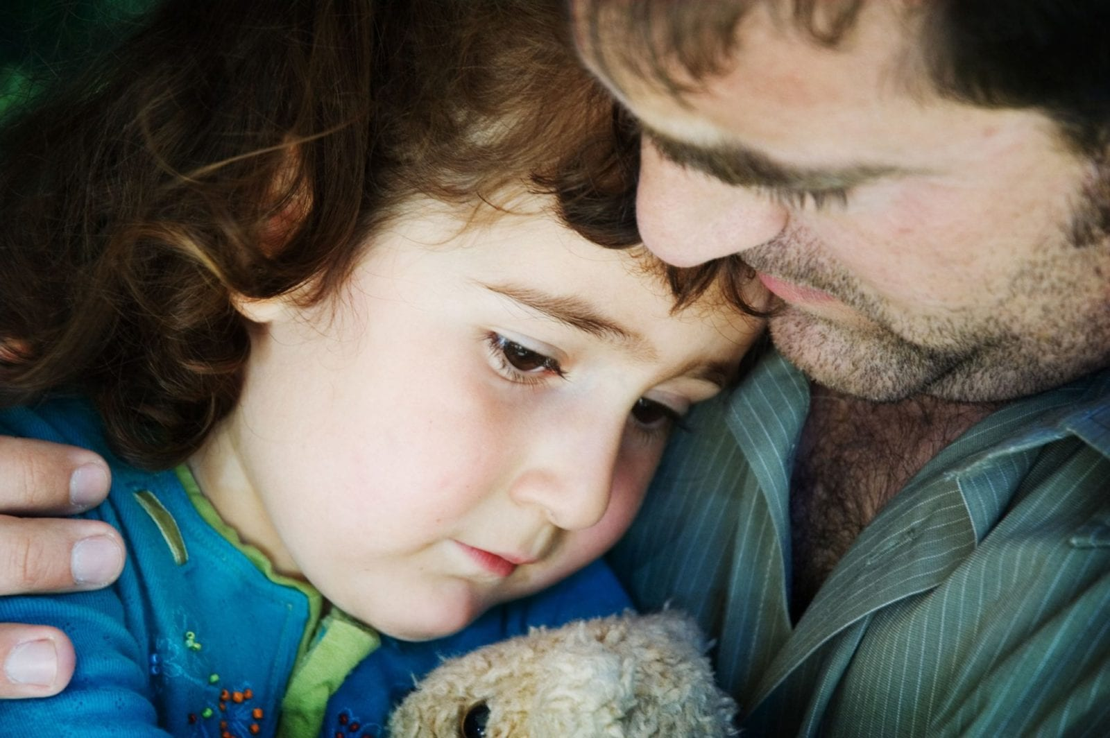 Father Consoling Daughter