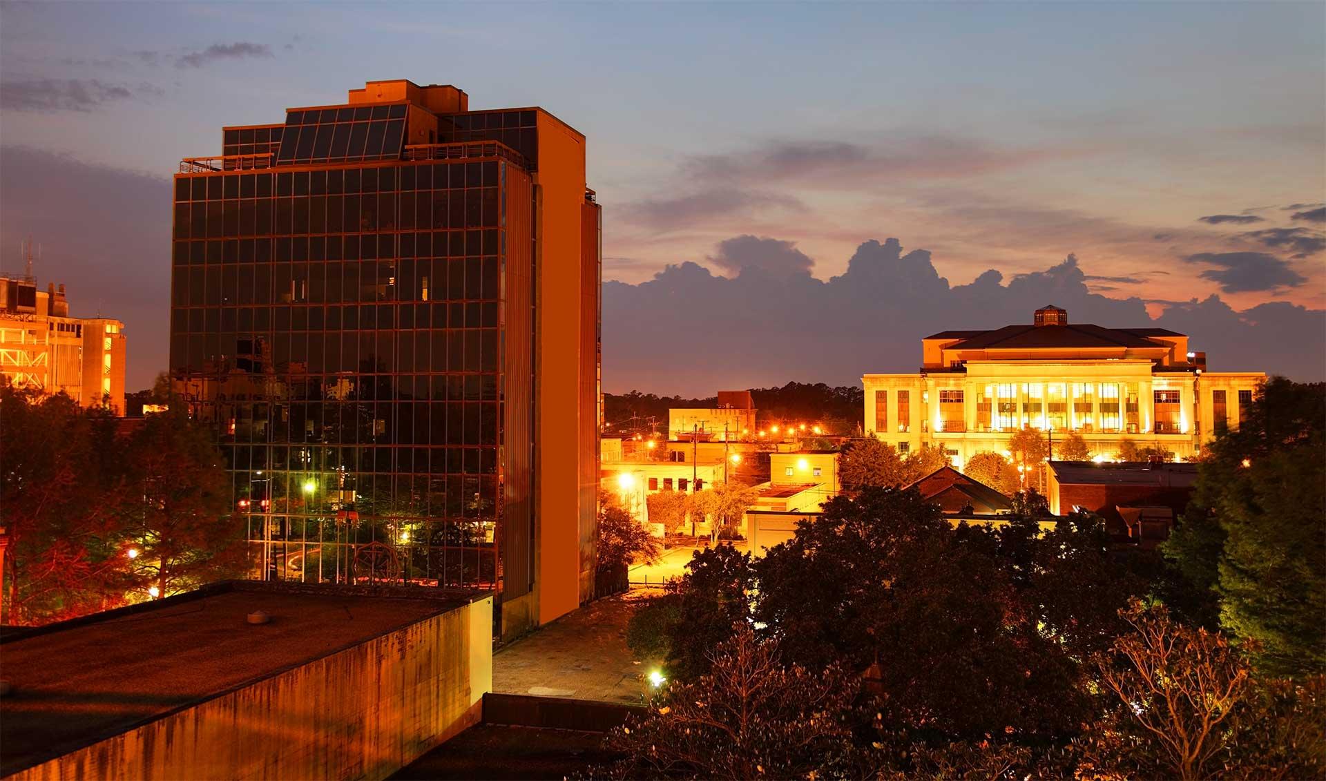 Downtown Lafayette, Louisiana