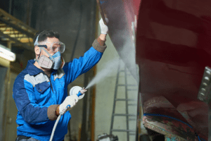 Manufacturing Worker Stock Photo