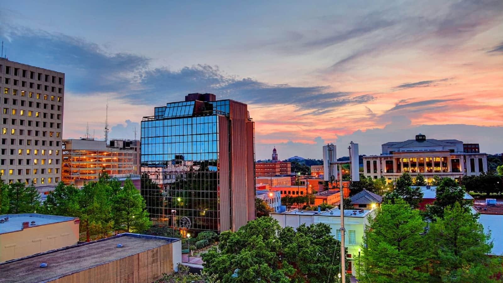 Lafayette, Louisiana Skyline