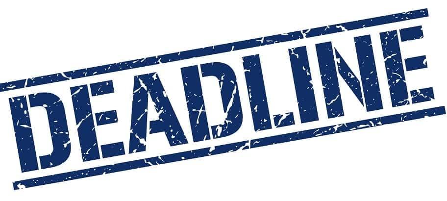 Deadline Stock Photo